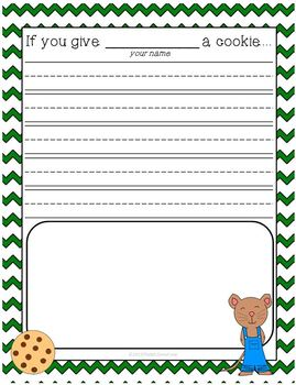 If You Give A Mouse A Cookie Writing & Drawing Activity