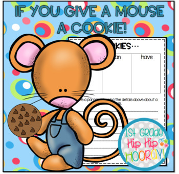 If You Give A  Mouse A Cookie Activities and Crafts!