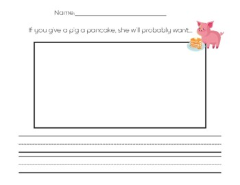 If You Give A Pig Writing Prompt