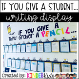 If You Give A Student A Pencil Writing Display