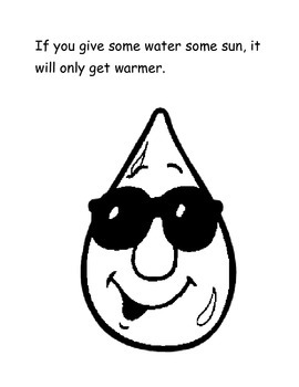 If You Give Water Some Sun: A story about the weather cycle.