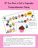 If You Give a Cat A Cupcake Comprehension Game