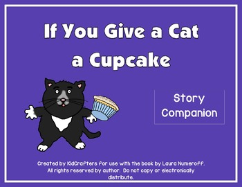 If You Give a Cat a Cupcake Book Companion