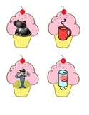 If You Give a Cat a Cupcake Center activities