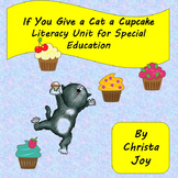 If You Give a Cat a Cupcake Unit for Special Education