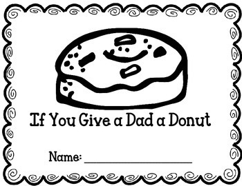 Dad a Donut Father's Day book