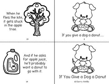 If You Give a Dog a Donut Mini-Book