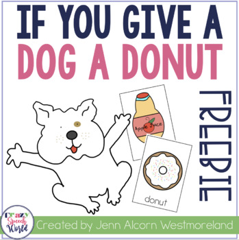 If You Give a Dog a Donut Word Association Freebie