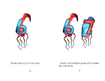 If You Give a Gnome a Number Reader Printable Booklet
