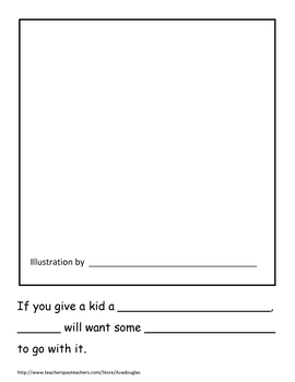 If You Give a Kid School Supplies Class Book