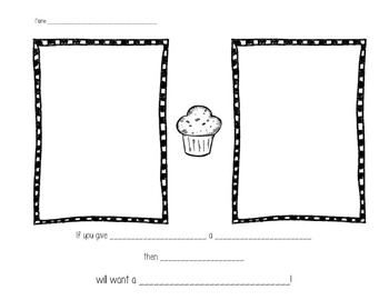 If You Give a Kid a Muffin! Extension activity