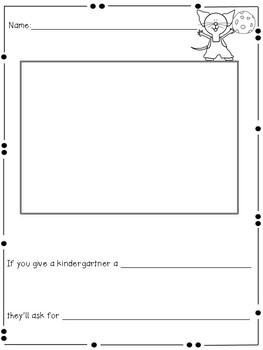 If You Give a Kindergartner a.....