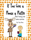 If You Give a Moose a Muffin Book Activities