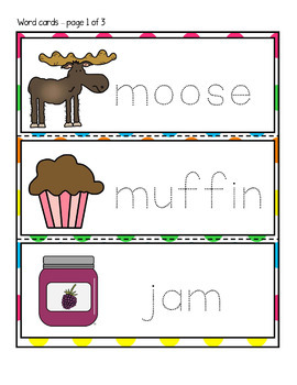 If You Give a Moose a Muffin Book Companion