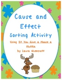 If You Give a Moose a Muffin Cause and Effect Activity