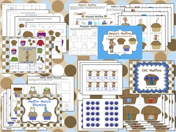 If You Give a Moose a Muffin - Literacy and Math Activities