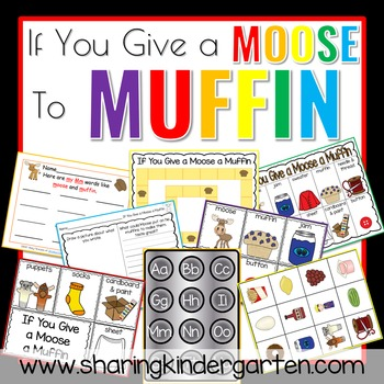 If You Give a Moose a Muffin Activities for Preschoolers