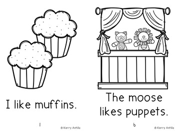 If You Give a Moose a Muffin mini-book