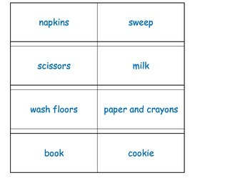 If You Give an animal like a Mouse A COOKIE sequencing ESL ELL cut glue hands on