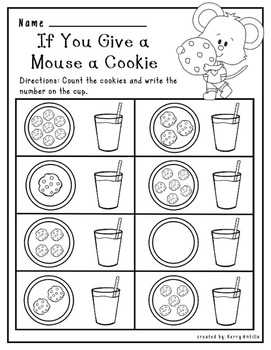 If You Give a Mouse A Cookie Number Sense