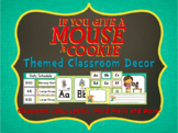 If You Give a Mouse Classroom Decor ~ Labels, Number Lines