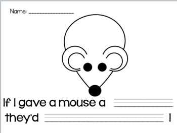 If You Give a Mouse Writing Craft