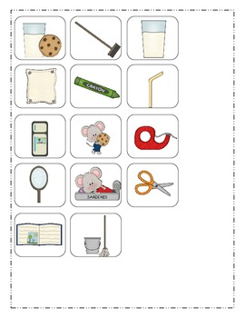 If You Give a Mouse a Cookie Book Activities