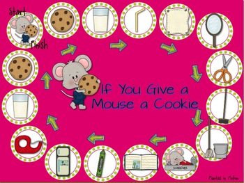 If You Give a Mouse a Cookie: Book Companion for Pre-K/Kdg. Speech & Language