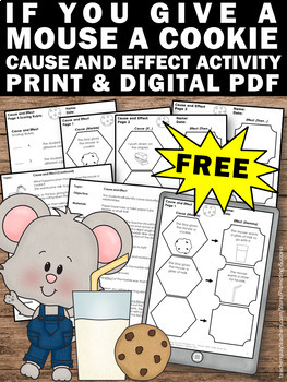 Inspiration Organization: If You Give a Mouse a Cookie Worksheets
