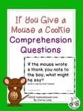 If You Give a Mouse a Cookie Comprehension