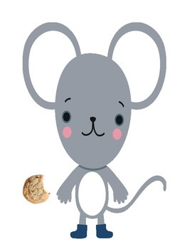 A Mouse a loves a Cookie Counting Numbers 1-10 ESL hands on
