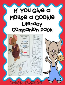 If You Give a Mouse a Cookie Craft Pattern
