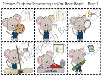 if you give a mouse a cookie speech and language companion packet