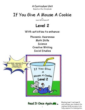 If You Give a Mouse a Cookie Level 2 Digital Version