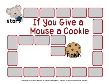 If You Give a Mouse a Cookie Literacy Unit by Sharing ...