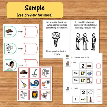 If You Give a Mouse a Cookie Literacy Unit for Special Education