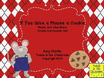 If You Give a Mouse a Cookie Music and Literature Set
