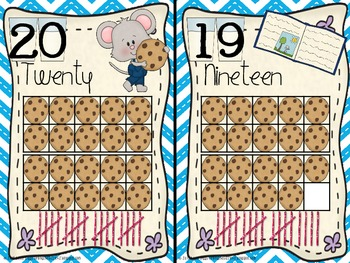 If You Give a Mouse a Cookie Number Cards!