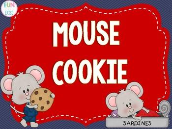 Mouse Cookie Pre-K and Kindergarten Activities