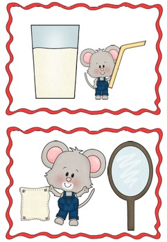 If You Give a Mouse a Cookie - Sequencing Activities