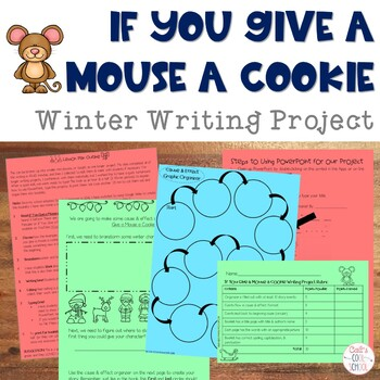 Christmas Writing: If You Give a Mouse a Cookie Writing Project