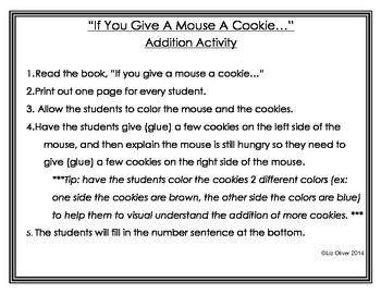 If You Give a Mouse a Cookie...Addition!