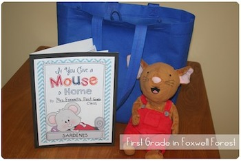 If You Give a Mouse a Home {Take-Home Bag}