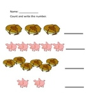If You Give a Pig A Pancake Counting Sheet