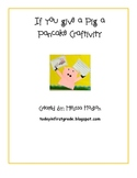 If You Give a Pig A Pancake Craftivity