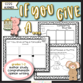 If You Give a Pig a Pancake {Author Study & Common Core Ac