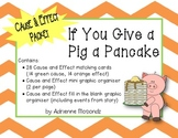 If You Give a Pig a Pancake {Cause & Effect Packet}