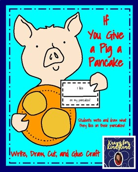 If You Give a Pig a Pancake Craft