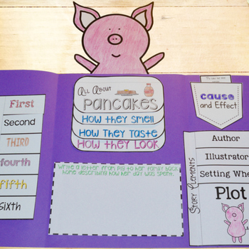 If You Give a Pig a Pancake Lapbook