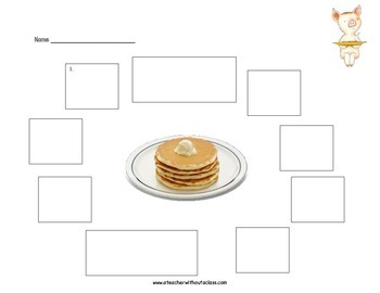 If You Give a Pig a Pancake: Retell Activity